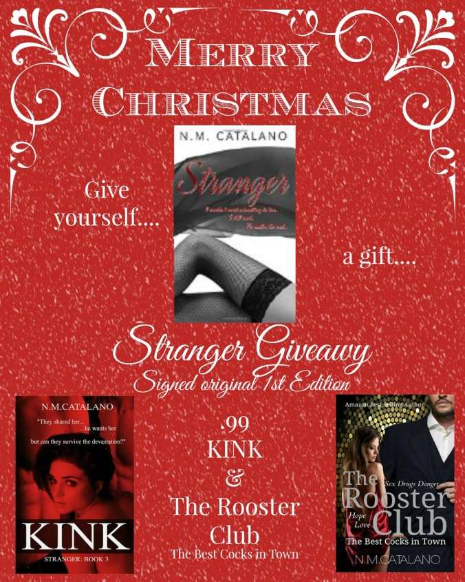 stranger christmas giveaway