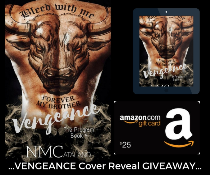 VENGEANCE cover reveal giveaway